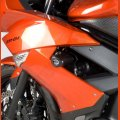 "R&G Racing Sturzpads ""No Cut"" Kawasaki ER-6 F 2009-2011"