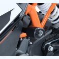 "R&G Racing Sturzpads ""No Cut"" KTM RC 125 / 200 / 390 2014-"