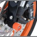 R&G Racing Gabel Protektoren Orange KTM Duke 125 / 200 / 390
