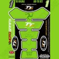 Motografix Isle Of Man TT Races Official Licensed 3D Gel Tank Pad Protector IOMTT01G