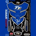 Motografix Isle Of Man TT Races Official Licensed 3D Gel Tank Pad Protector IOMTT02B