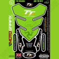 Motografix Isle Of Man TT Races Official Licensed 3D Gel Tank Pad Protector IOMTT02G