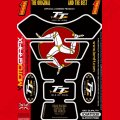 Motografix Isle Of Man TT Races Official Licensed 3D Gel Tank Pad Protector IOMTT03K