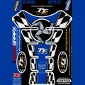 Motografix Isle Of Man TT Races Official Licensed 3D Gel Tank Pad Protector IOMTT05B