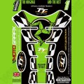 Motografix Isle Of Man TT Races Official Licensed 3D Gel Tank Pad Protector IOMTT05G