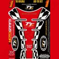 Motografix Isle Of Man TT Races Official Licensed 3D Gel Tank Pad Protector IOMTT06R