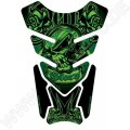 Motografix Death or Glory Green 3D Gel Tankpad Protector ST073G