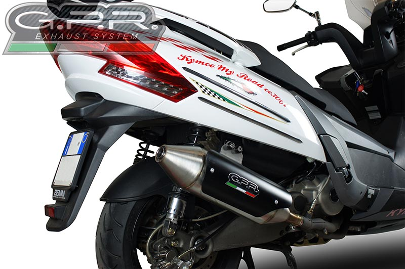 GPR POWER BOMB FULL EXHAUST CATALIZED MYROAD 700 2012/16