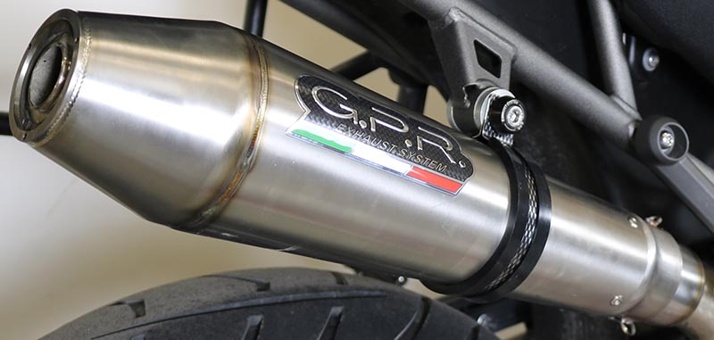 GPR MX-CONE SLIP-ON EXHAUST TIGER 1200 explorer 2011/16