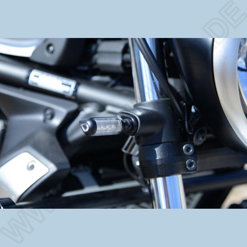 Kawasaki Vulcan S Cafe Racer Lenkerenden Spiegel VICTORY mit Blinker