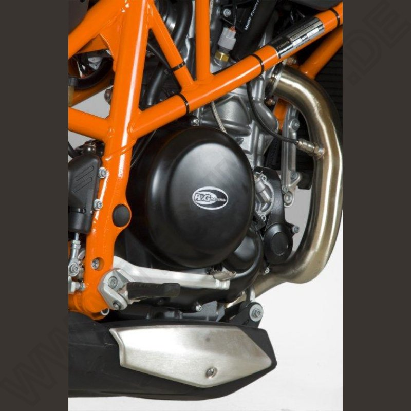 R&G Racing Motordeckel Protektor Set KTM 690 SMC-R 2012-
