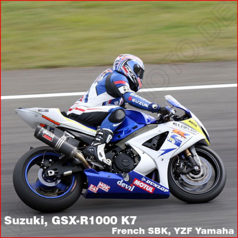 GB Racing Motor Protektor Set Suzuki GSX-R 1000 2005-2008
