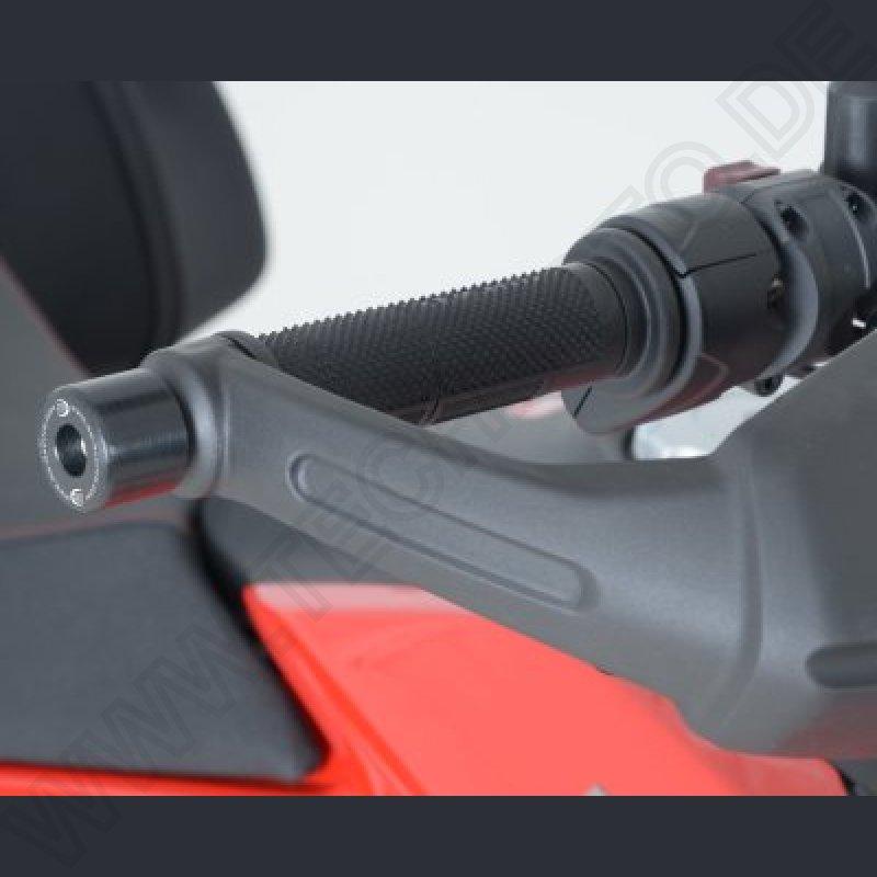 939 2013 Bar End Sliders NEW R/&G Lenker Protektoren Ducati Hypermotard 821
