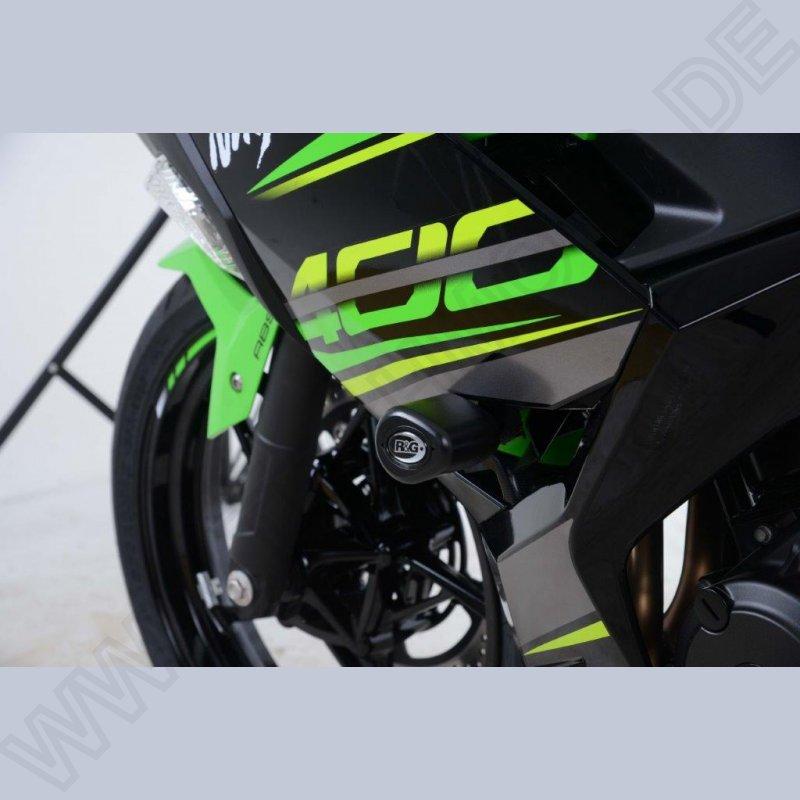 Rg Racing Sturzpads No Cut Kawasaki Ninja 250 400 2018 Techmoto