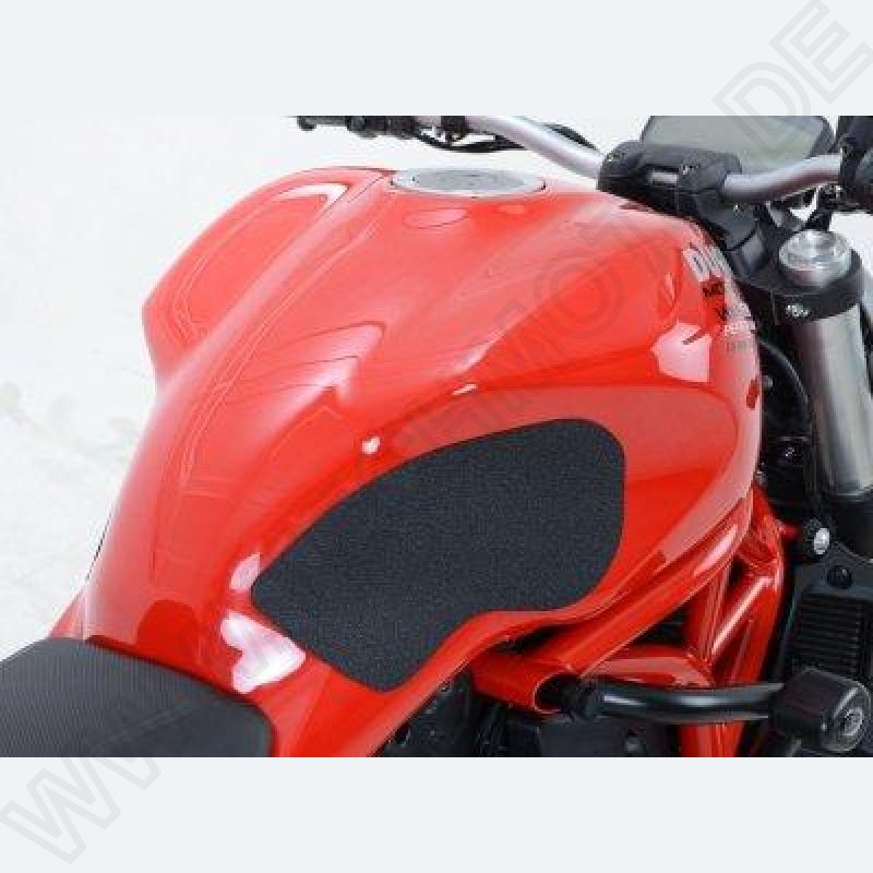 R/&G Racing Eazi-Grip Traction Pads Black to fit Ducati 999