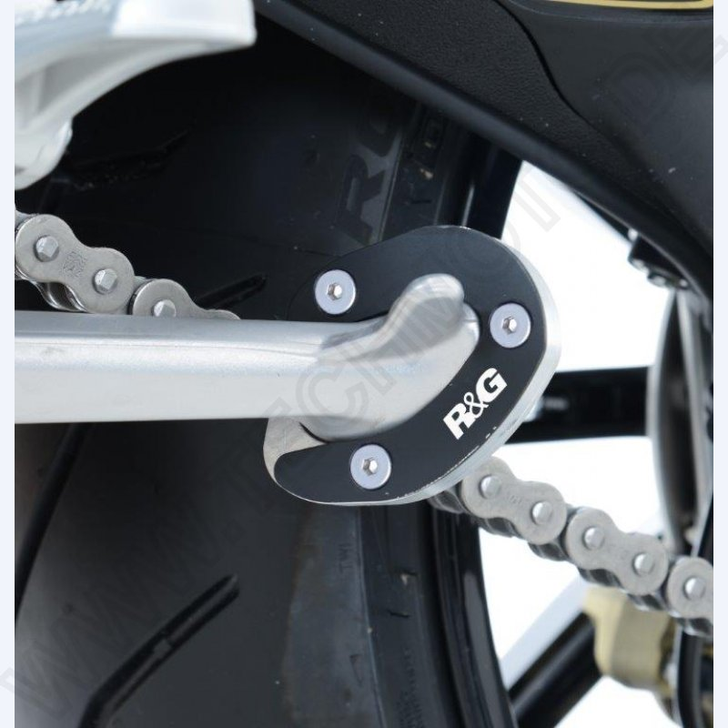 NEW R/&G Seitenständer Puck MV Agusta Dragster Rivale 800 Kickstand Shoe