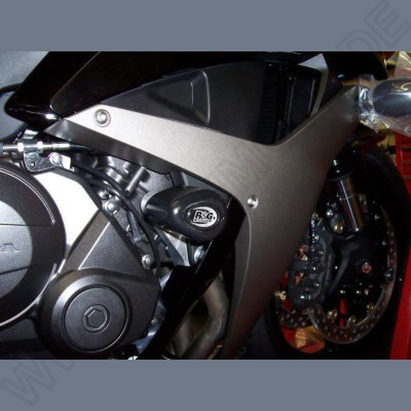 R/&G RACING PAIR CLASSIC STYLE CRASH PROTECTORS Honda CBR1100 blackbird XX5