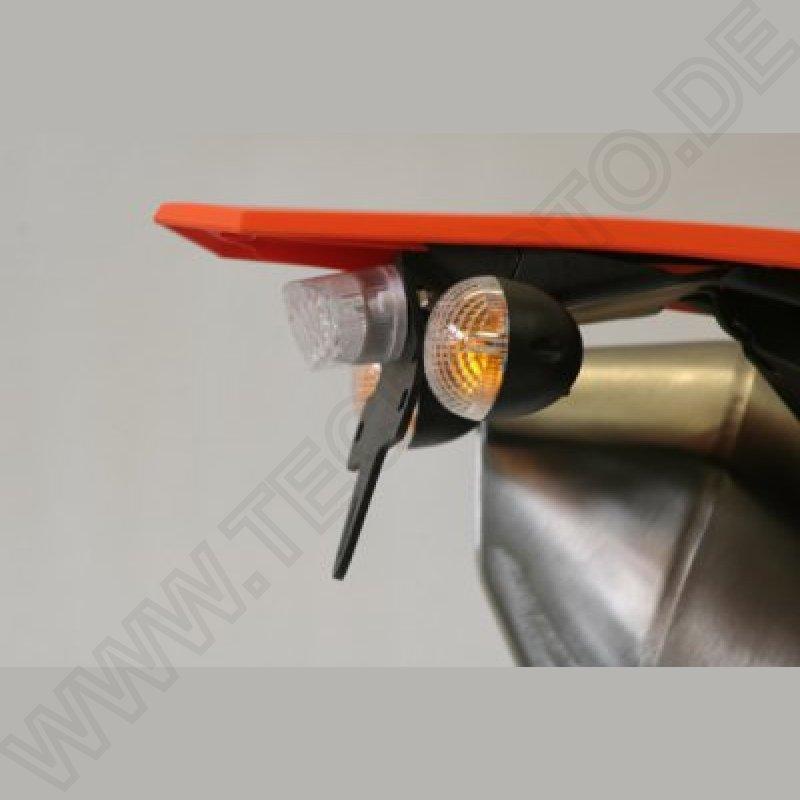 RG Racing Kennzeichenhalter KTM 690 SMC R 2012 ABLP0073BKSMCR2012